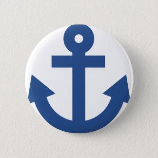 Anchor 2 Inch Round Button