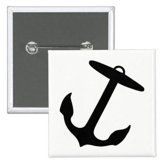 Anchor 2 Inch Square Button