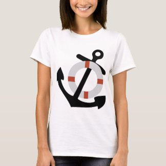 anchor and lifesaver T-Shirt