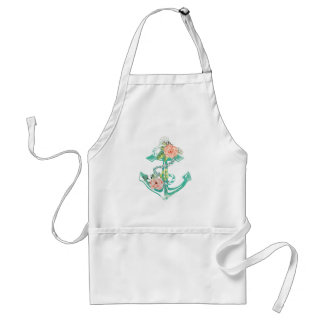 Anchor and Roses Standard Apron
