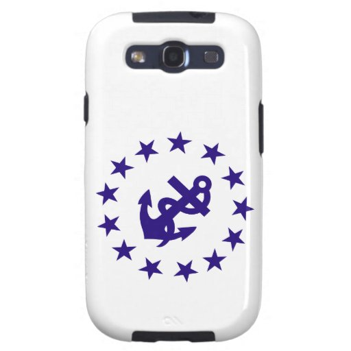 Anchor and Stars Navy Samsung Galaxy S3 Cover