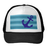 Anchor and Stripes Trucker Hat