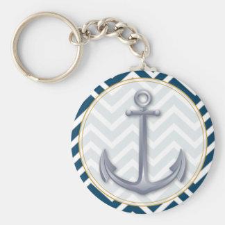 Anchor Anniversary Keychain