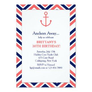 Anchor Argyle Invitation