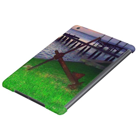 Anchor at Sunset Cover For iPad Air