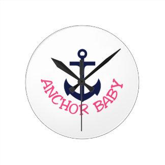 Anchor Baby Clocks