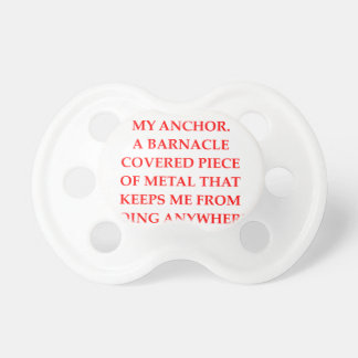 ANCHOR BABY PACIFIER
