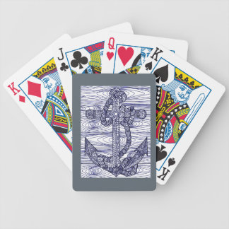 Anchor Bicycle Playing Cards