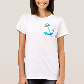 Anchor--blue T-Shirt
