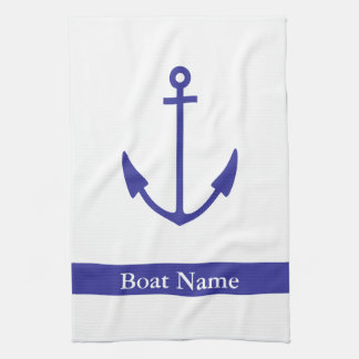 Anchor Boat Galley Towel