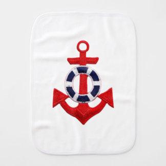 anchor burp cloth