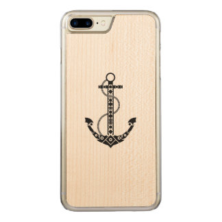 Anchor Carved iPhone 7 Plus Case