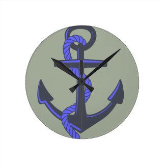 Anchor clock. wallclock