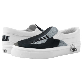 Anchor Custom Zipz Slip On Shoes,  Men & Women