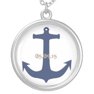 Anchor Date Necklace