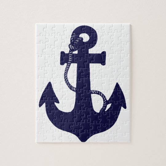 Anchor design jigsaw puzzle