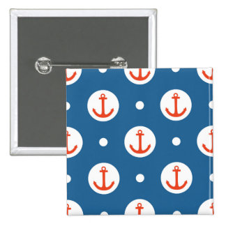 Anchor Dots 2 Inch Square Button