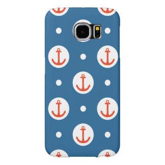 Anchor Dots Samsung Galaxy S6 Cases