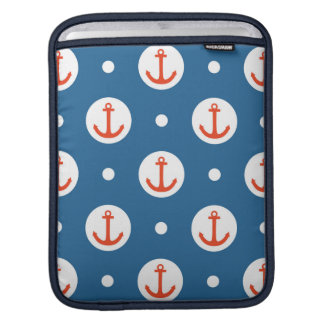 Anchor Dots Sleeve For iPads