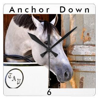 Anchor Down Clocks