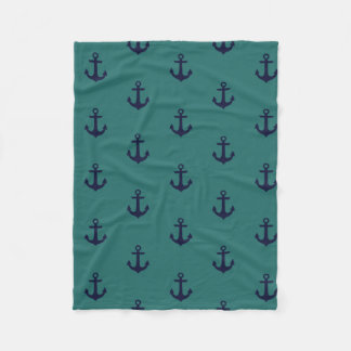 Anchor ! fleece blanket