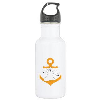 Anchor ghost Halloween 532 Ml Water Bottle
