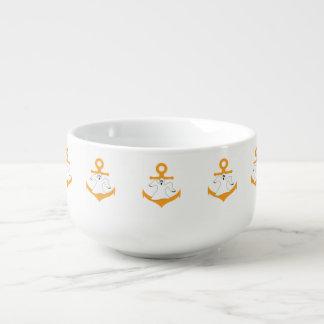 Anchor ghost Halloween Soup Mug