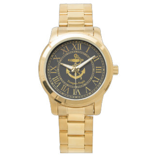Anchor Gold Personalize Watch