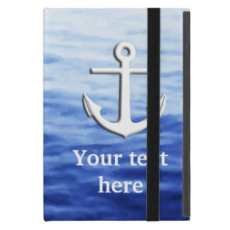 Anchor Graphic to personalize iPad Mini Covers