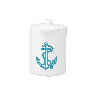 anchor - imitation of embroidery