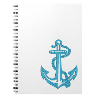 anchor - imitation of embroidery notebook