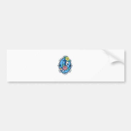 Anchor in Frame Bumper Sticker