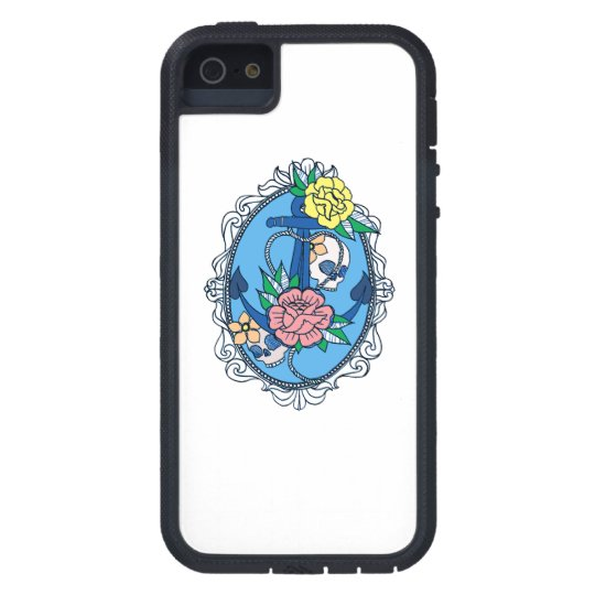 Anchor in Frame iPhone 5 Cover