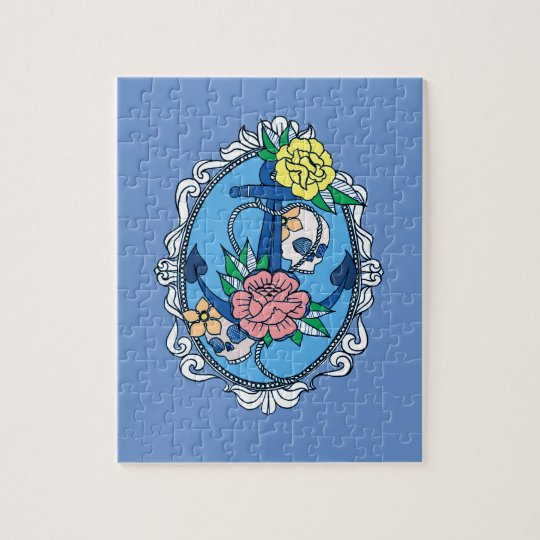 Anchor in Frame Jigsaw Puzzle
