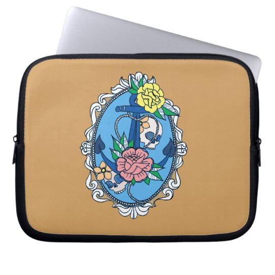 Anchor in Frame Laptop Sleeve
