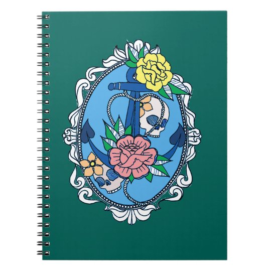 Anchor in Frame Notebook