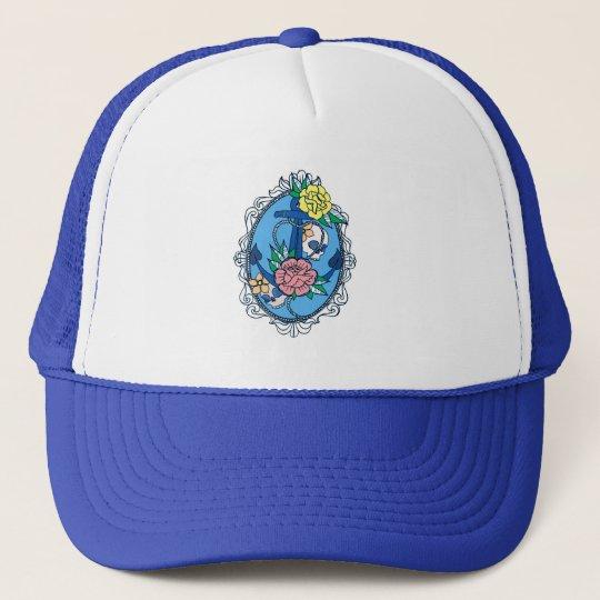 Anchor in Frame Trucker Hat
