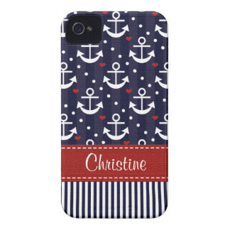 Anchor iPhone 4  4s Case Mate Cover Nautical