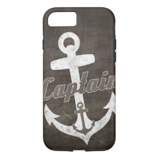 Anchor iPhone 7 case nautical Vintage Sepia Grunge
