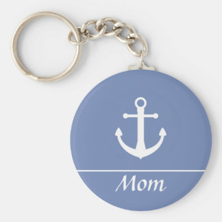Anchor Keychain for Mom
