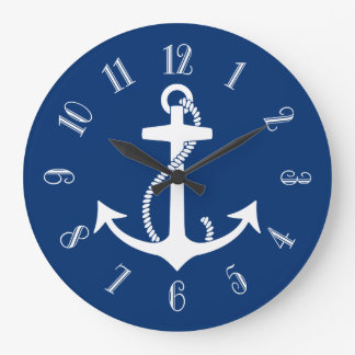 Anchor Large Clock