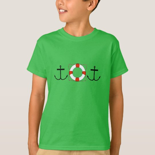 Anchor & Life Saver  Kids' Hanes TAGLESS® T-Shirt