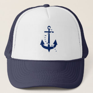 Anchor & Line Navy Trucker Hat