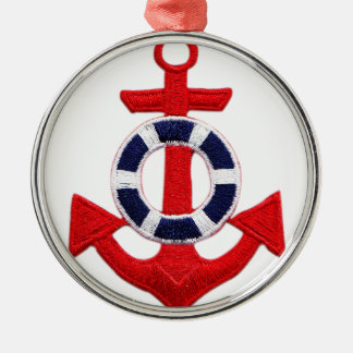 anchor metal ornament
