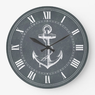 Anchor Nautical Wallclock