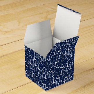 Anchor Navy Sailing Nautical Ocean / Andrea Lauren Favor Boxes