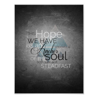 Anchor of the Soul Art Poster