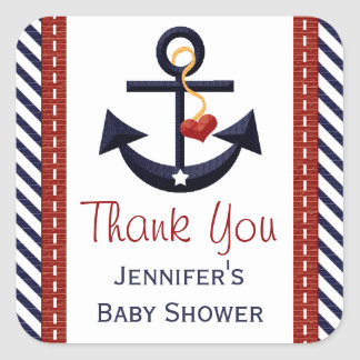 Anchor Party Favor Sticker Labels