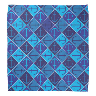 Anchor pattern bandana