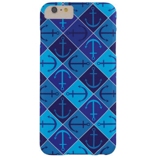 Anchor pattern barely there iPhone 6 plus case